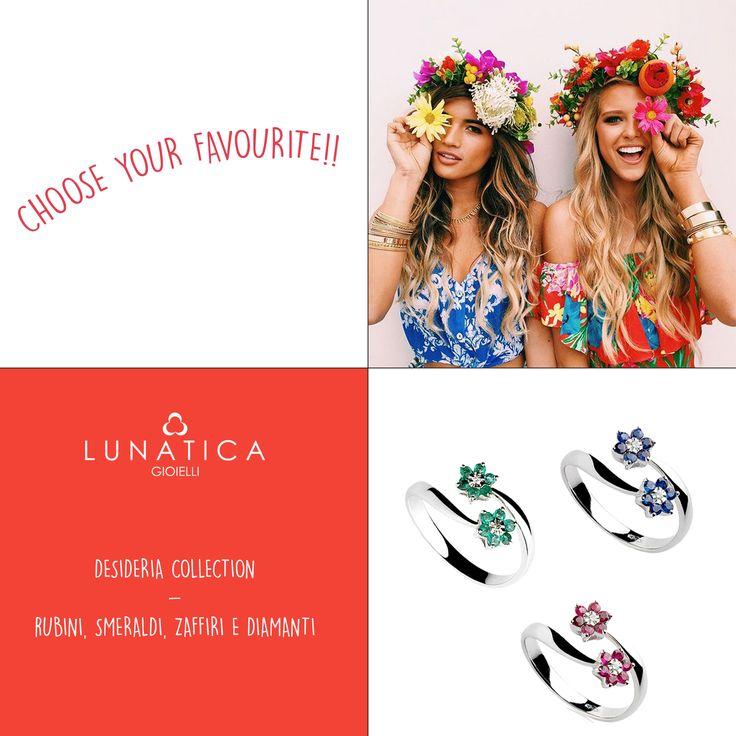 #lunatica #lunaticagioielli #roma #madeinitaly #handmade #italianstyle #style #fashion #vibes #mood #fashion #fashionista #outfit #composit #gioielli #jewellery #jewelry #whitegold #gold #18kt #emerald #smeraldo #ruby #rubini #sapphire #zaffiri #girl #jflower #ring #bling #diamonds #pure #precious #blue #red #green #wantit #colors #trend #loveit #flowerpower