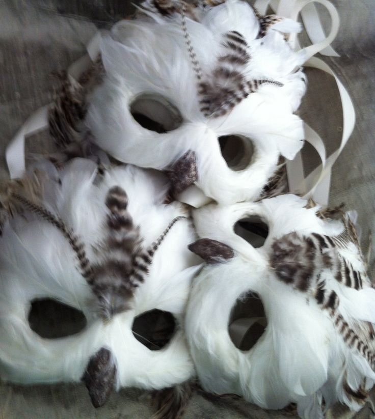 Snow Owl / Venetian Specialty Custom Animal Mask. $120.00, via Etsy.