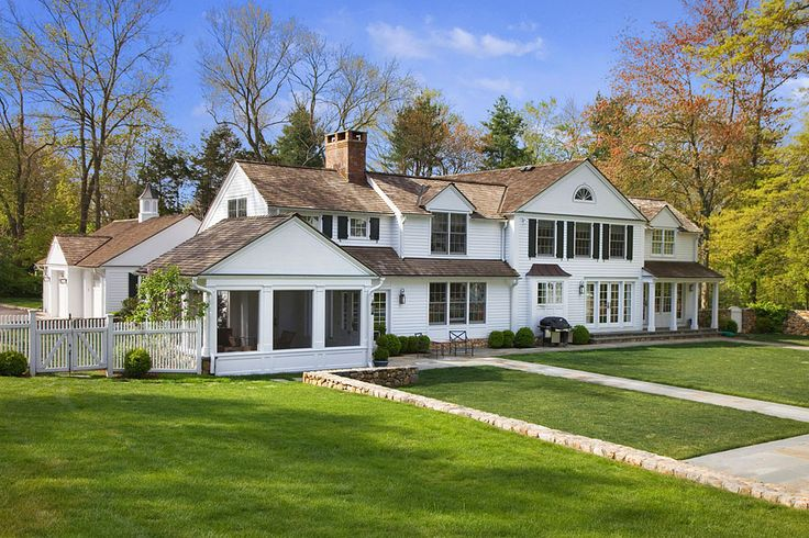 10 best homes colonial images on pinterest homes for Colonial home additions