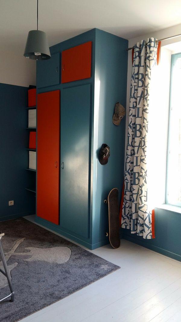 R novation d coration des chambres d 39 adolescents for Lai papier peint deco