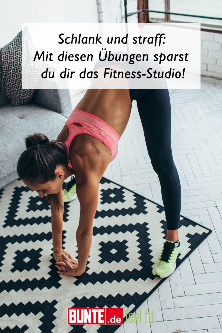 Home-Workout: Schlank und straff: Mit diesen Übungen sparst du dir das Fitness-Studio
