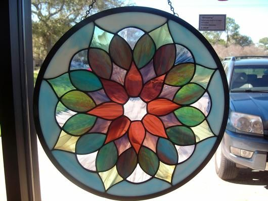 """Blossoming"" - Delphi Artist Gallery by Alexander Art Glass"