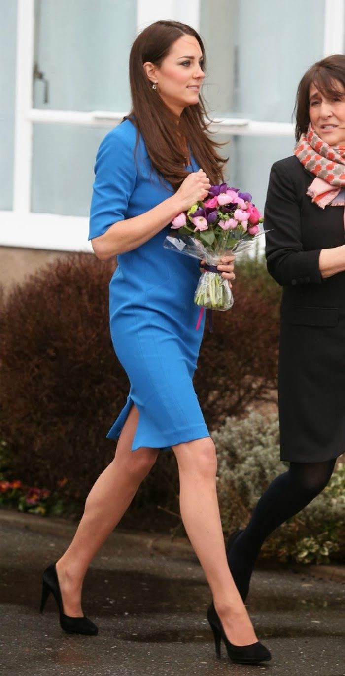 Catherine, Duchess of Cambridge attended  the opening of the ICAP Art Room at Northolt High School  in Ealing 2.14.2014