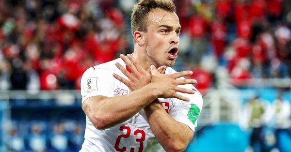 Granit Xhaka And Xherdan Shaqiri Face Fines From Fifa For Celebrations In Switzerland S Win Against Serbia Fifa Sports News Update Switzerland