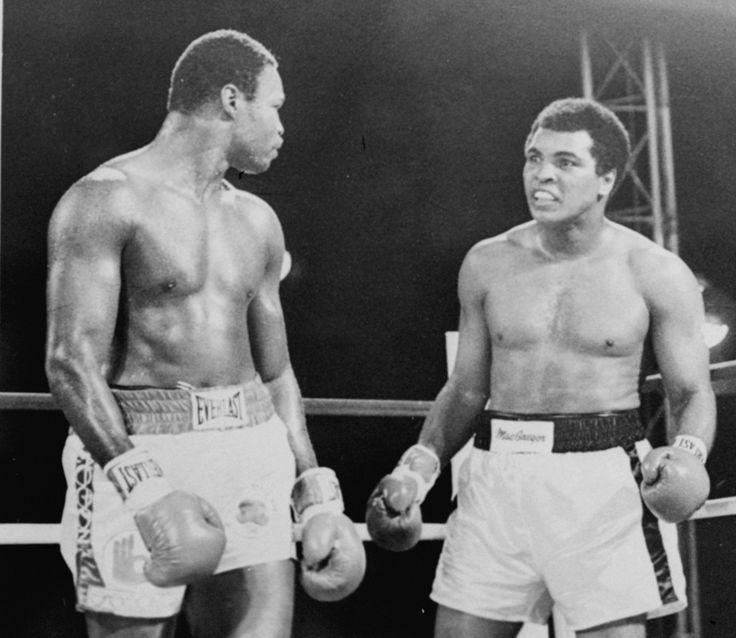 Muhammad Ali Larry Holmes