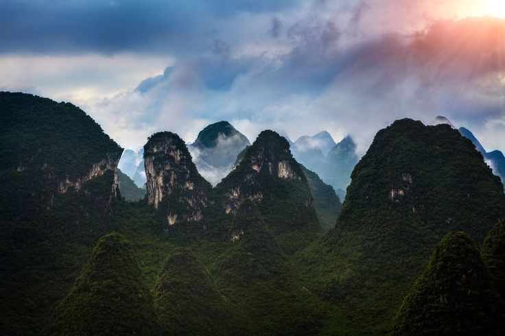 Flying Through Xingping Photo by Peter Stewart -- National Geographic Your Shot
