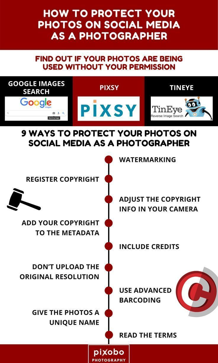 How To Protect Your Photos On Social Media As A Photographer How