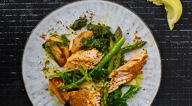 Recipe: Jasmine Hemsley's Lemon, Turmeric and Black-Pepper Salmon