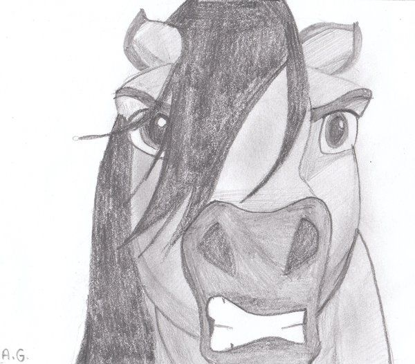 spirit of the stallion drawing - Google Search
