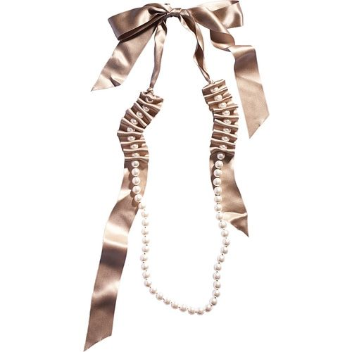 Lanvin Pearl Necklace: 8 Best Lanvin Ribbon Necklaces Images On Pinterest