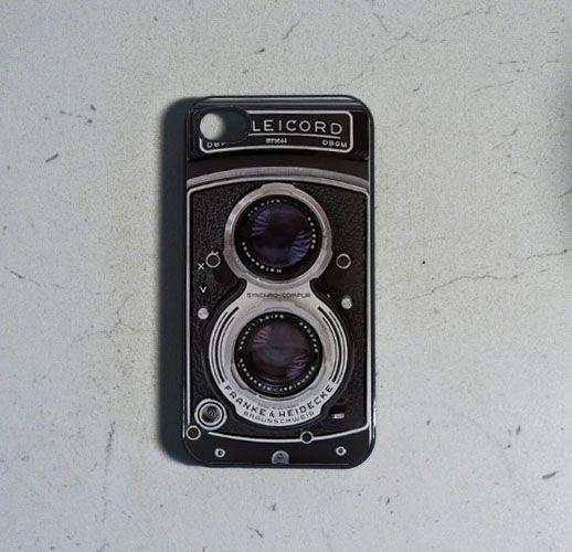 COQUE IPHONE 4 appareil photo moyen format