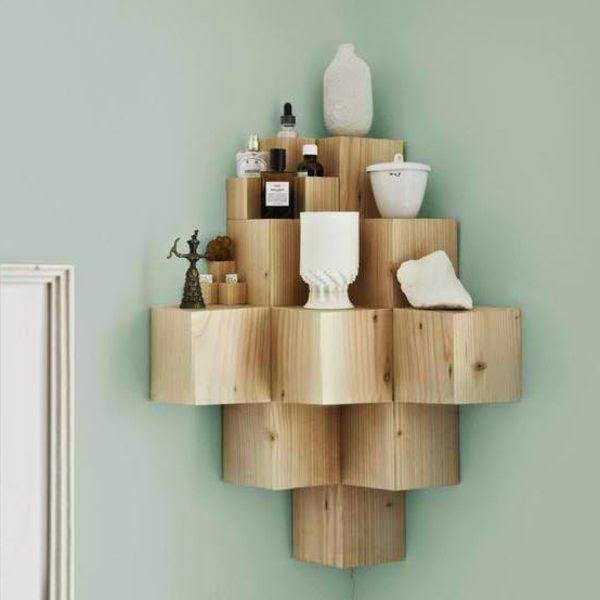 Living Room Corner Shelf: 1000+ Ideas About Corner Shelving Unit On Pinterest