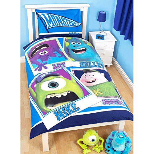 Disney Monstres Academy - Parure de lit simple réversible - Enfant (Lit simple) (Bleu) Disney http://www.amazon.fr/dp/B00PRIRZD0/ref=cm_sw_r_pi_dp_z3g-ub01W5JW2