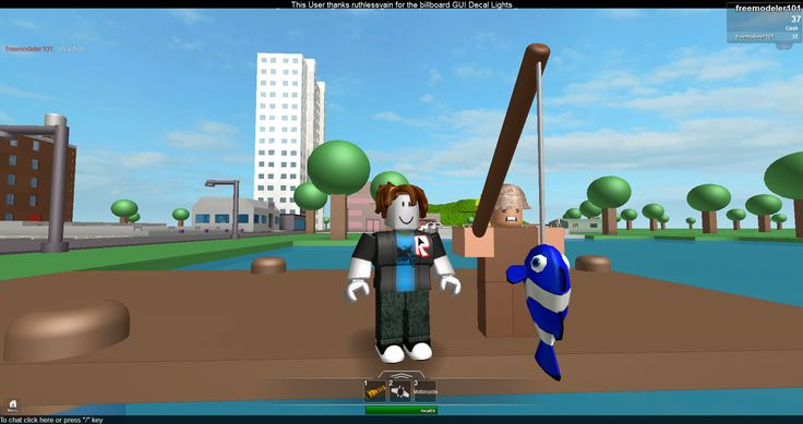ok.. play roblox... sign up!!! play my game..by freemodeler101... welcome to the modified town of robloxia