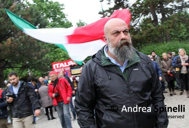 Great War - National parade of CasaPound far-right organization