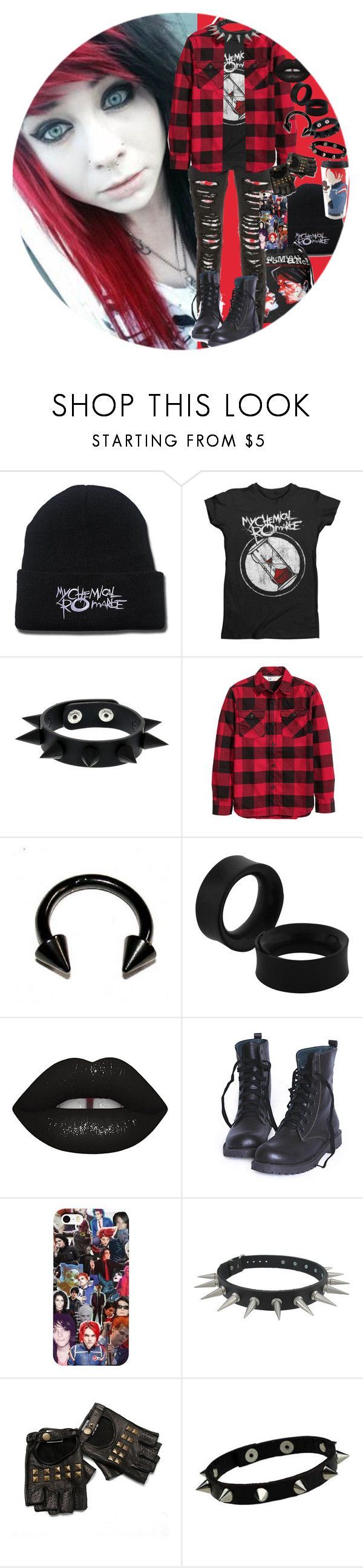 """""""Untitled #794"""" by chemicalfallout249 ❤ liked on Polyvore featuring Lime Crime"""