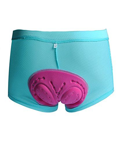 UDIY Women's 3D Padded Bicycle Cycling Underwear Comfort Style Shorts - http://mountain-bike-review.net/products-recommended-accessories/udiy-womens-3d-padded-bicycle-cycling-underwear-comfort-style-shorts/ #mountainbike #mountain biking