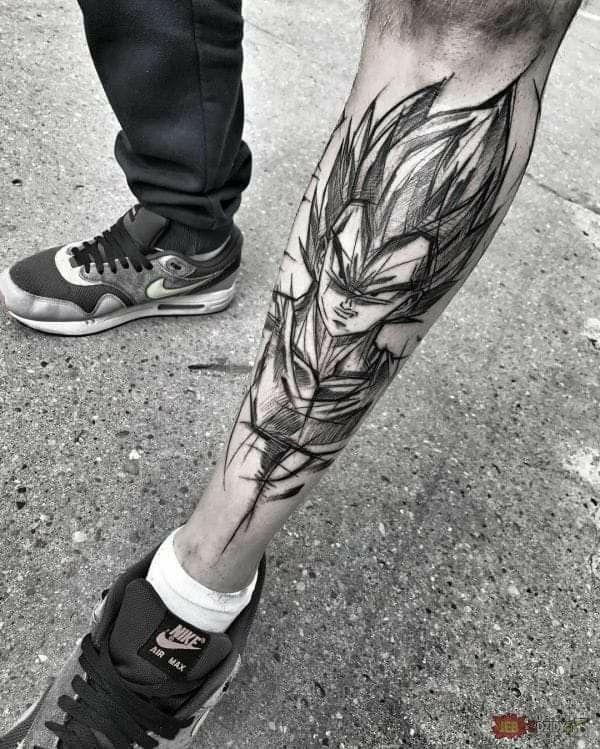Tattoo Dragon Ball Z Dbz Tattoo Dragon Ball Tattoo Tattoos