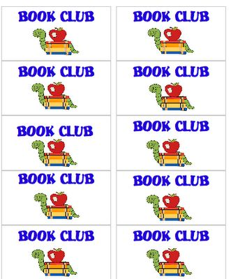Book clubs can improve your students' reading fluency.  Free printablesBook Club Lik, Choice Book, Club Ideas, Book Clubs, Club Labels