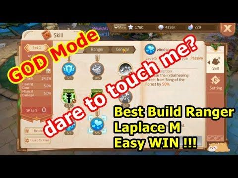 Best Build Skill Ranger Laplace M guide tutorial | Babah TuOng