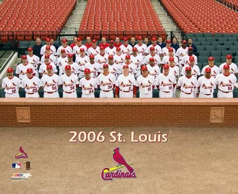 2006:  ST. LOUIS CARDINALS (4) vs. DETROIT TIGERS (1); st. louis manager tony larussa becomes just 2nd manager behind sparky anderson to win world series titles in both leagues (1989 - oakland)