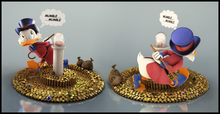 Uncle Scrooge - Mumble by Eder Carfagnini (2013)