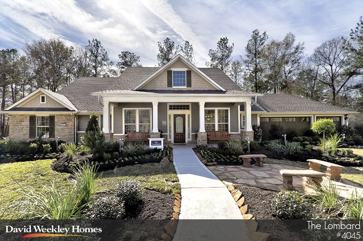 36 best images about curb appeal dream homes on pinterest for Craftsman model homes