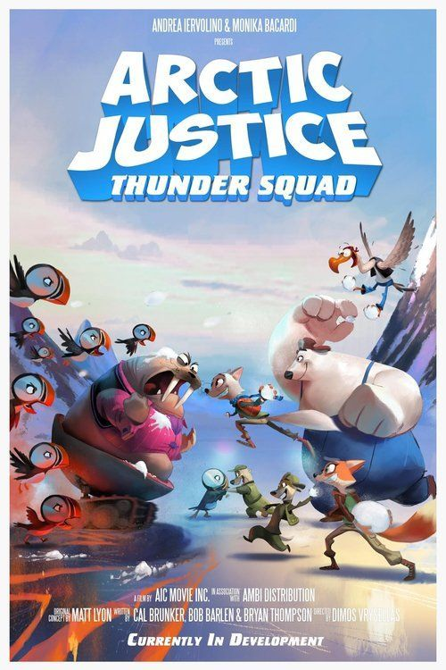 Watch Arctic Justice: Thunder Squad (2018) Full Movie Online Free
