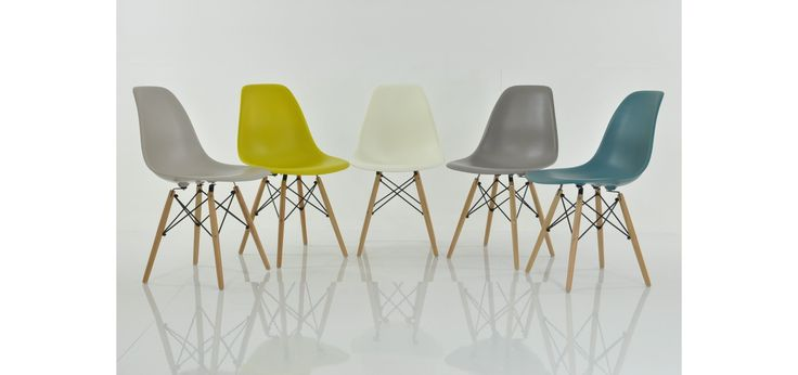 Buy Charles Eames Biscuit DSW Side Dining Chairs Lakeland Furniture