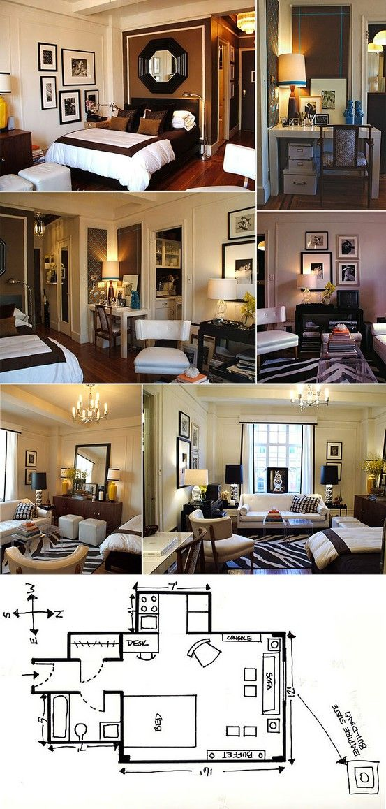 33 Best Images About Studio Apartment On Pinterest