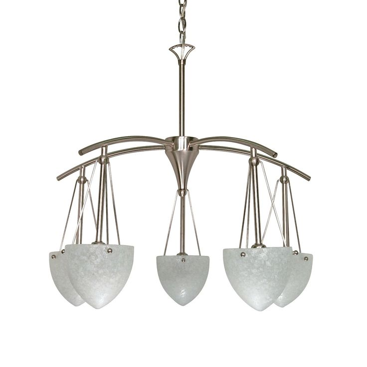 Best 25 beach chandelier ideas on pinterest beach lighting shop nuvo lighting 60 130 5 light south beach chandelier brushed nickel at atg mozeypictures Image collections
