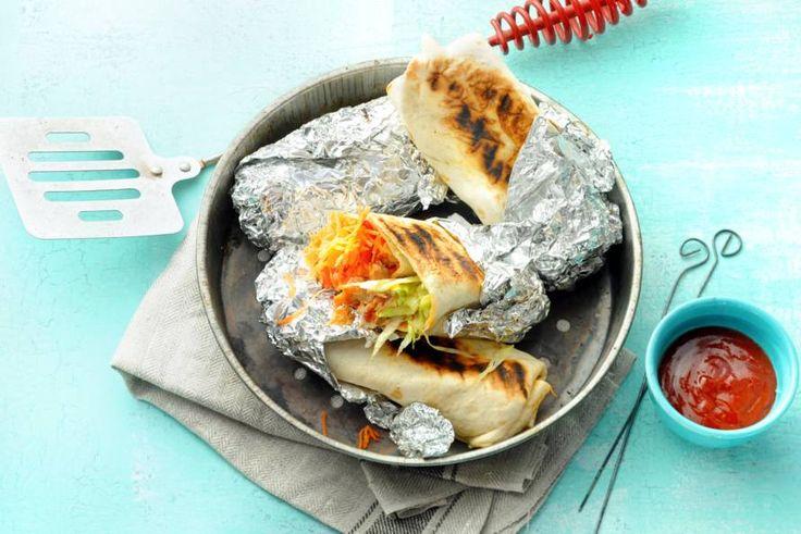 Deze viswraps lenen zich ook prima om op de barbecue te grillen - Recept - Allerhande