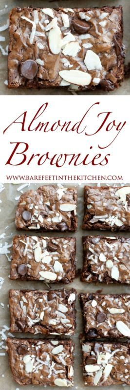 Almond Joy Brownies are gooey fudge brownies filled with plenty of chocolate, almonds, and coconut! I have a weakness for just about any almond and chocolate combination. So, when I combined that with...