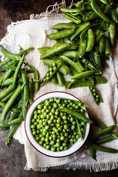 Spring brings peas with it.