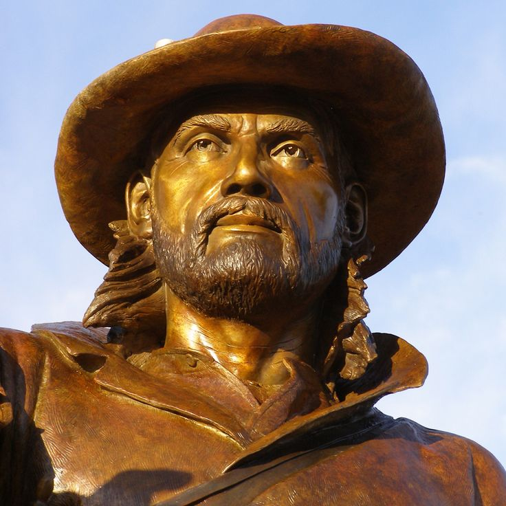 a biography of jim bridger a legendary frontiersman A friend of kit carson, jim baker was just as colorful of a figure as his companion   his name would come up again in history not only as a legendary  one of the  major figures in winning the west, bridger intermingled with.