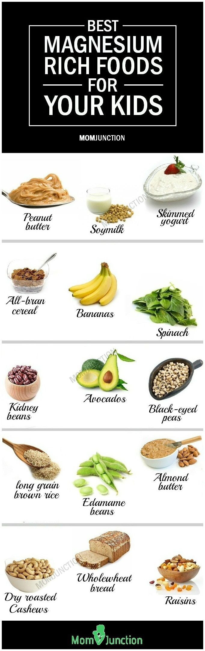 Things with magnesium in them
