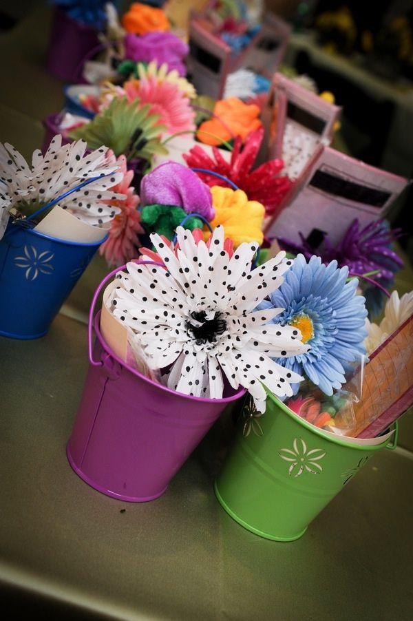 Flower Power - A Garden Theme Bat Mitzvah Party | Mazelmoments.com