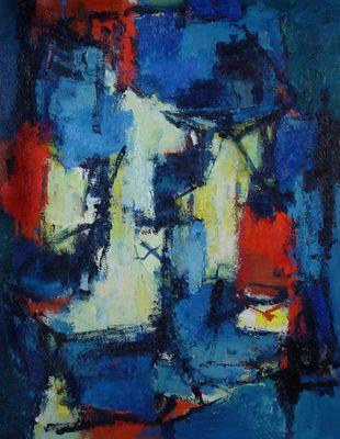 Karel Bleyenberg - Avondschemering (schilderijen/)