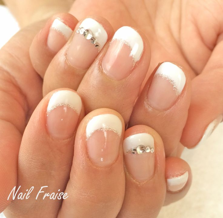 ☆Nail Fraise☆浦添市自宅ネイルサロン:シンプルフレンチ♪
