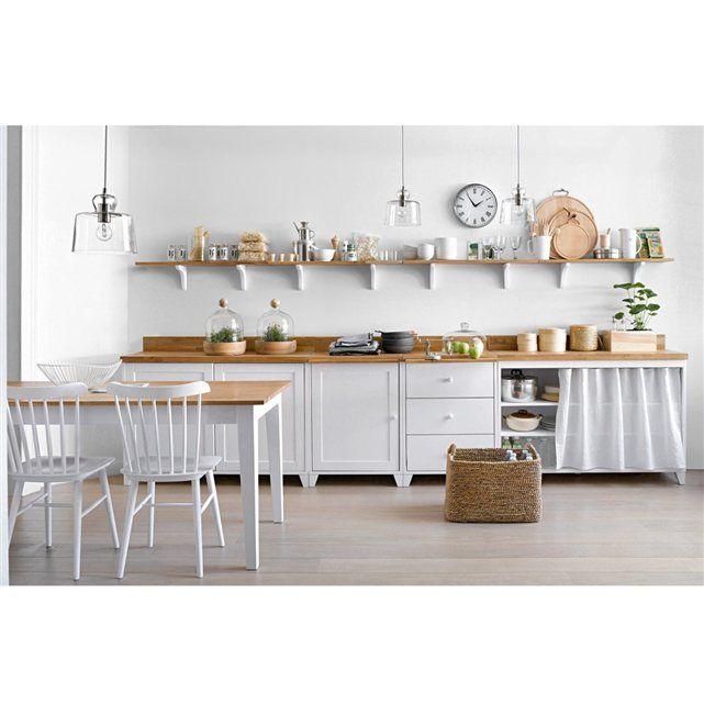 meuble de cuisine la redoute. Black Bedroom Furniture Sets. Home Design Ideas