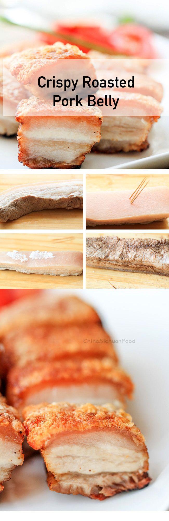 Crispy roasted pork belly #siu-yuk