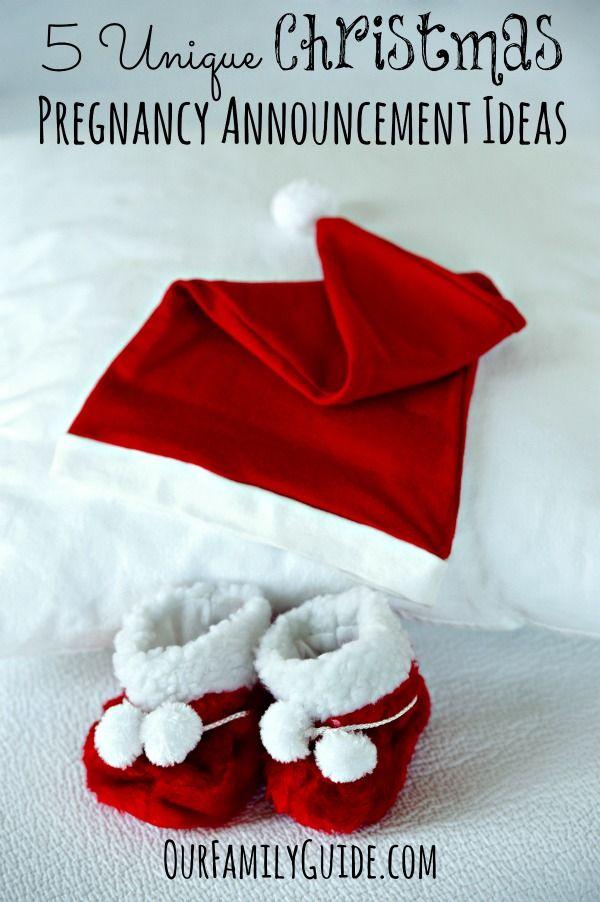 5 Unique Christmas Pregnancy Announcement Ideas | snow man ...