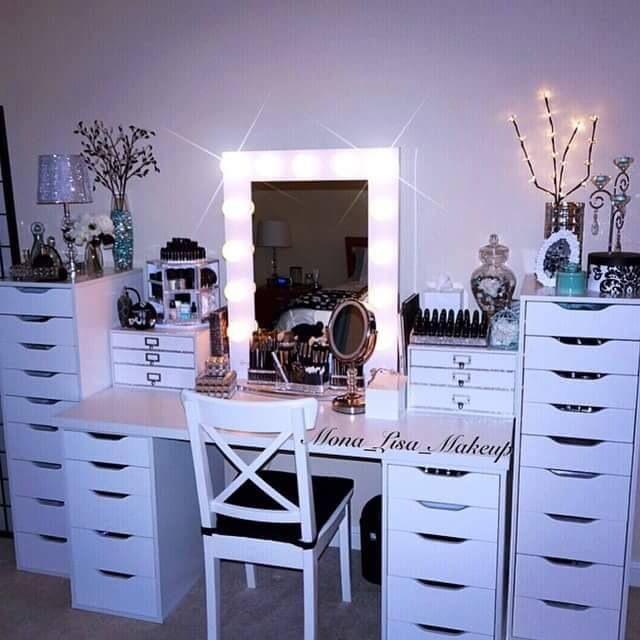 #makeup #vanity #homedecor