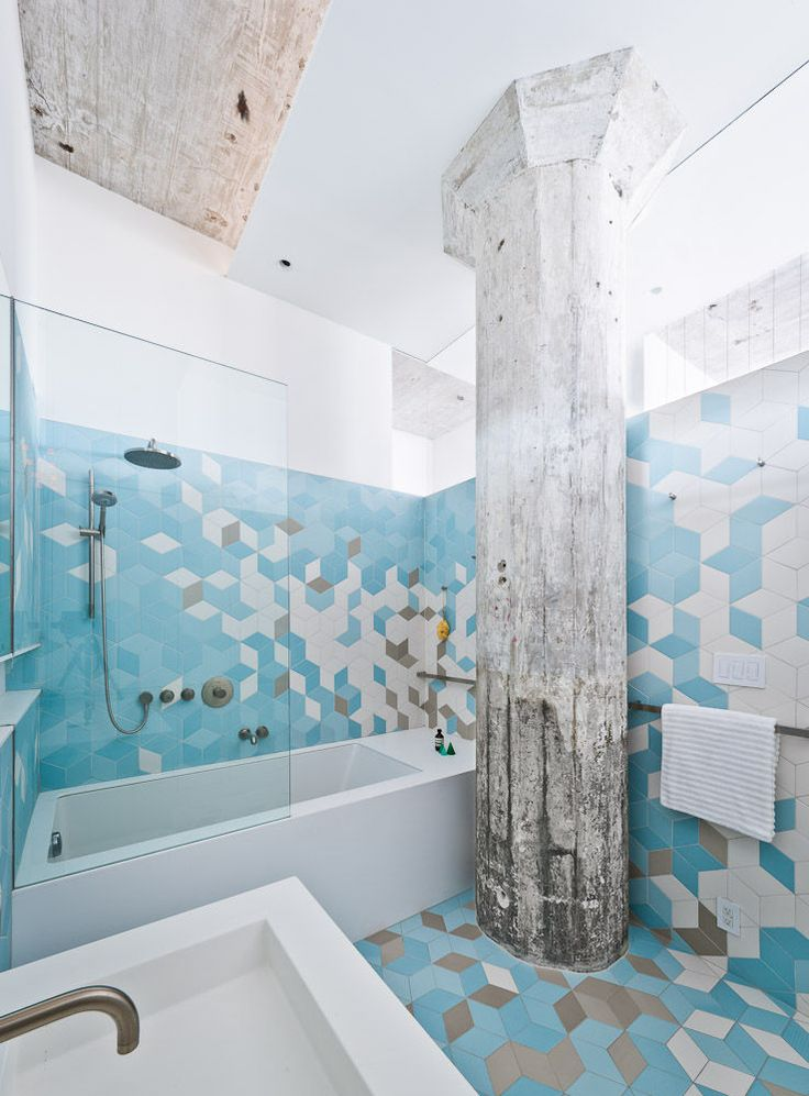 bathroom tile ideas - sabo project - freshome