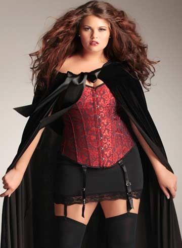 trajes de halloween para gorditas 7
