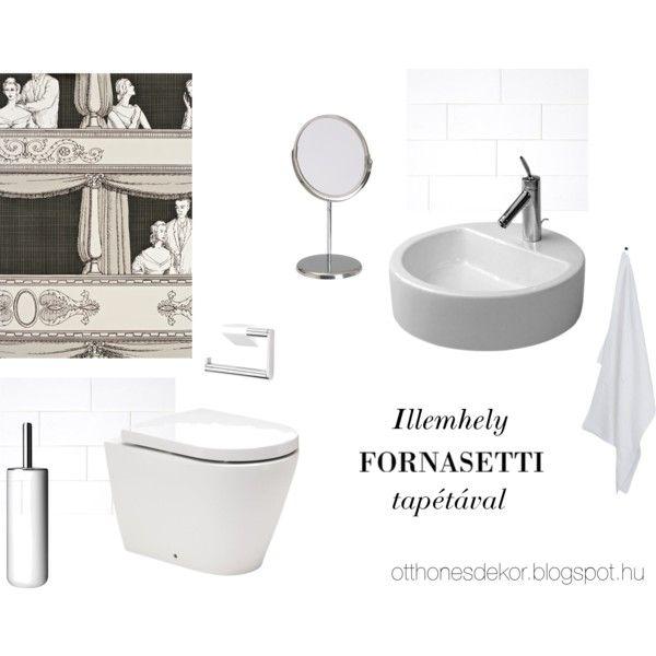 Toilet by otthonesdekor on Polyvore featuring interior, interiors, interior…