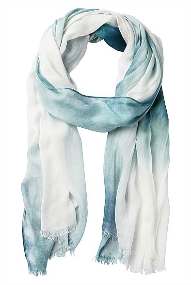 Faded Ombre Scarf #WITCHERYSTYLE