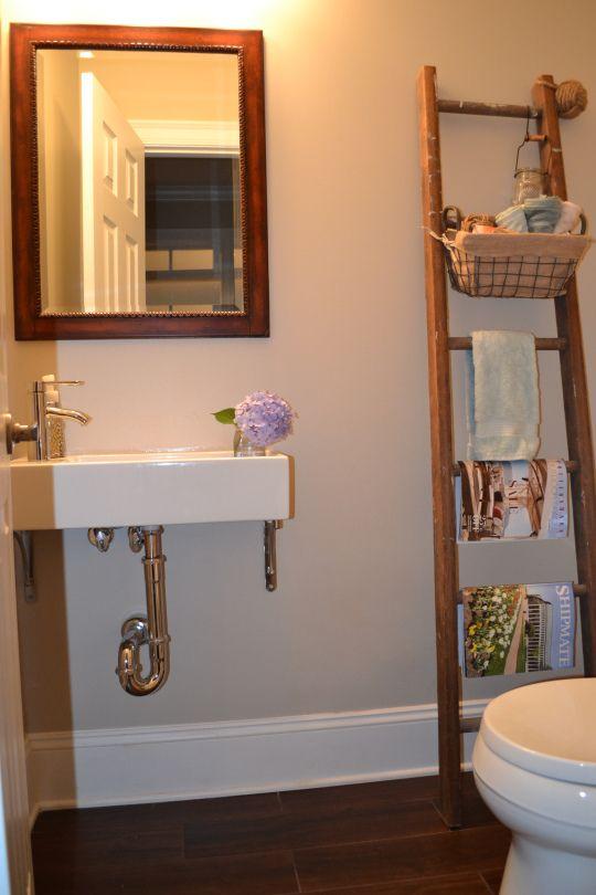 IKEA Lillangen Sink With Custom Wall Brackets. Small Sink For Bathroom  Powder Room. Vintage
