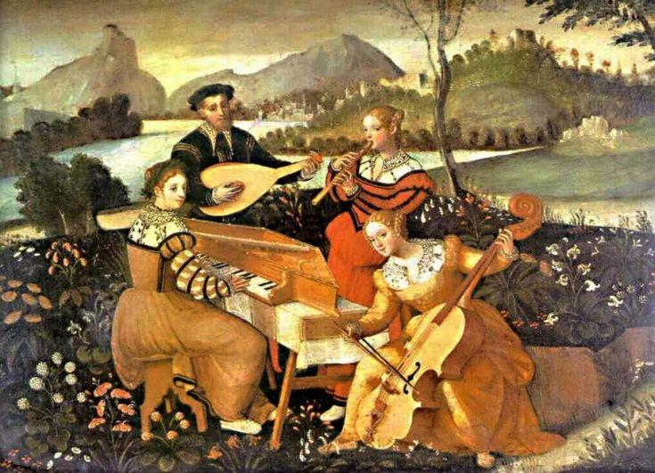 Музыка в живописи - Вспомнить, подумать...