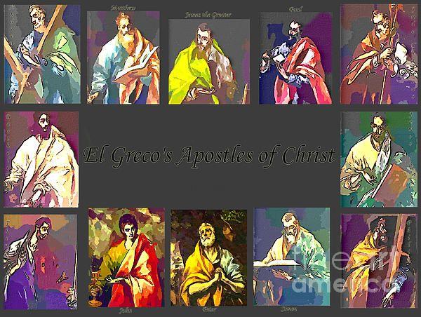 El Greco's Apostles of Christ by Barbara Griffin.